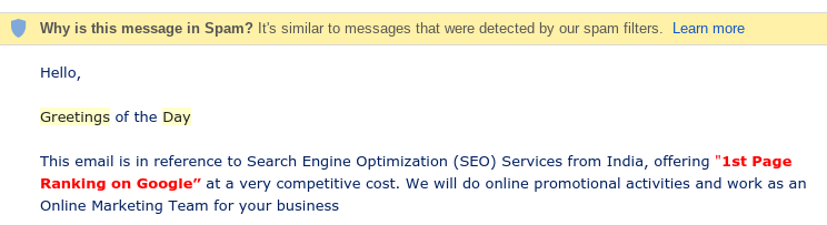 seo-spam-email